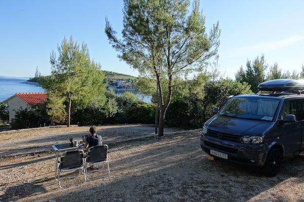Camp vira seaviews croatia