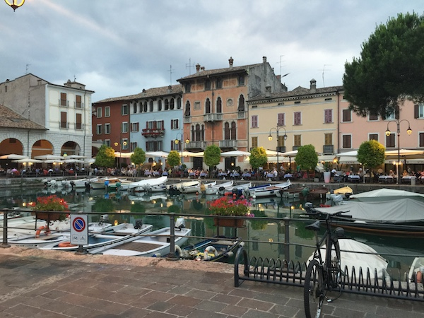 Desenzano harbour piazza