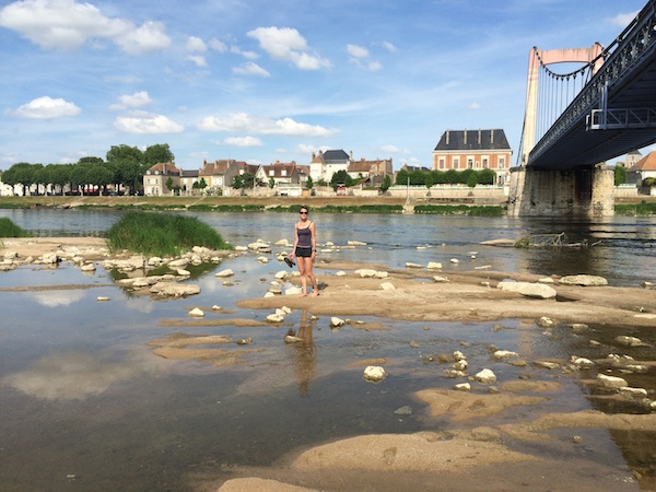 Explore paddle in River Loire