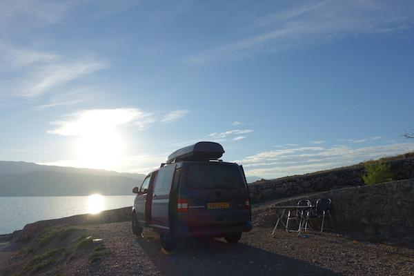 VW transport on Croatia island of Krk