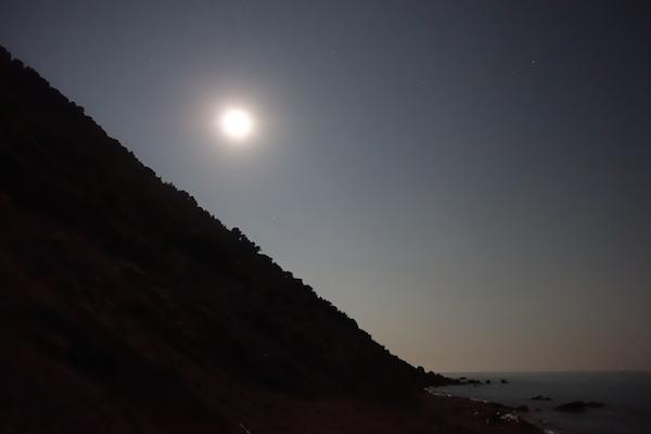 Full moon Lefkada July 2015
