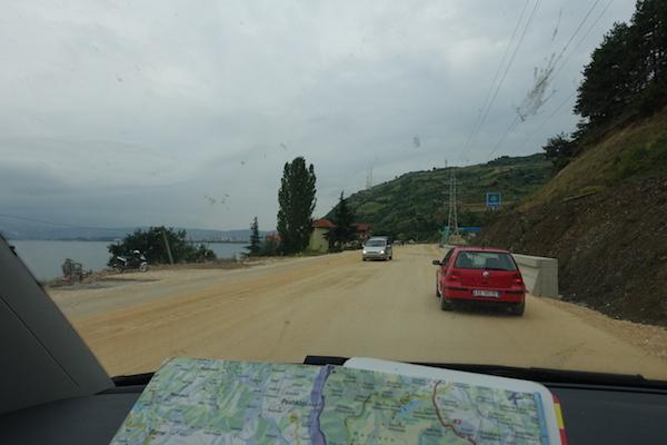 Interesting roads in Albania