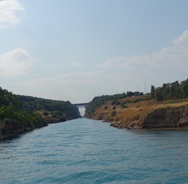 Korinth canal Greece