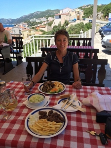 Lunch in Bosnia
