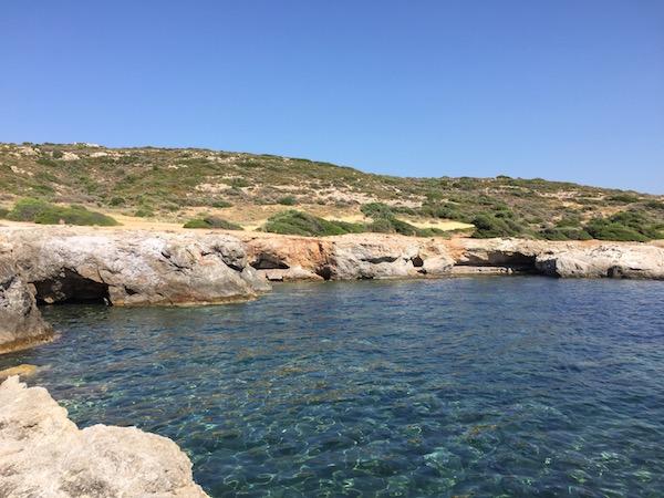 quiet bay Laconia Greece copy