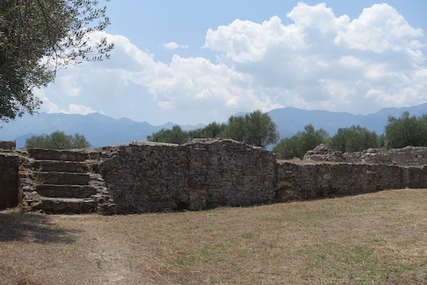 remains of ancient Sparta