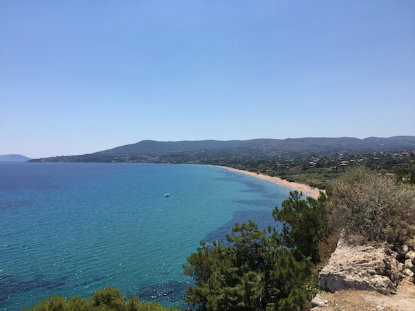 Zaga beach Koroni Peloponnese
