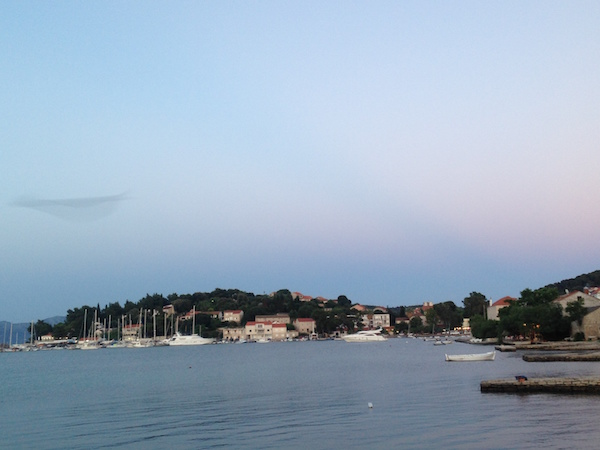 Lumbered Harbour Croatia