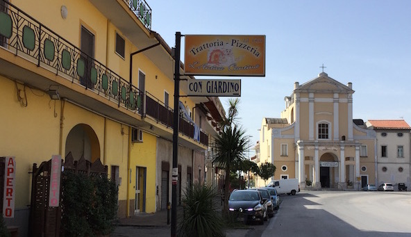Trattoria Antica Capua Italy
