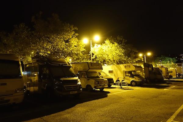 Trieste camper stop