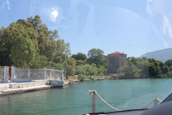 Discover historic Butrint in Albania ferry Vivari channel
