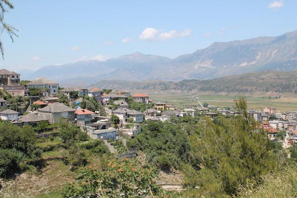 Discover Albanian landscape around Gjirokaster
