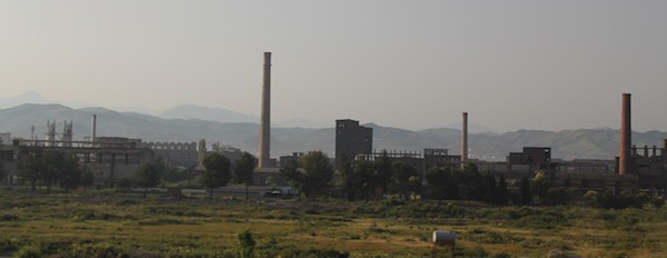 Communist industrial buildings in Albania