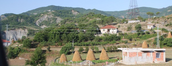 Rural Albania working hard