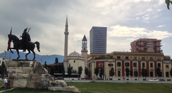communist era buildings to discover in Tirana Albania