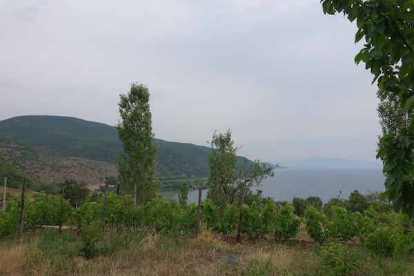 Discover camping at lake Ohrid Albania