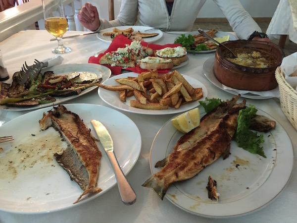 Discover Koran fish and local food in Albania