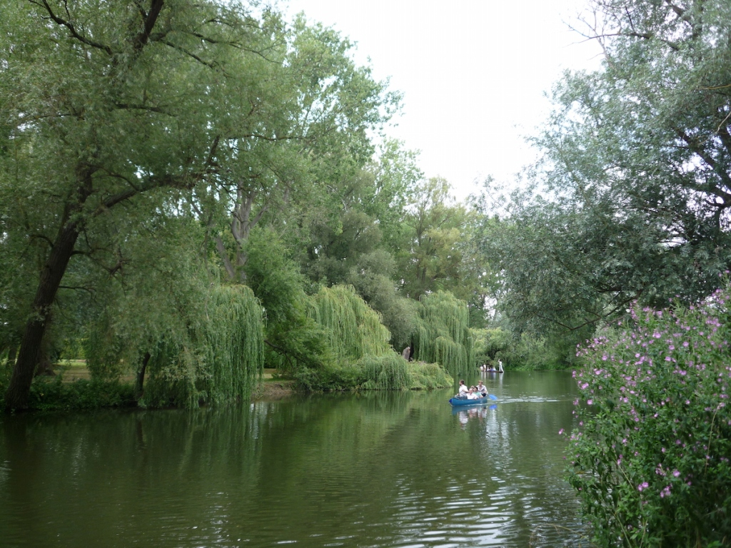 Peaceful walks or punt on River Thames Oxford
