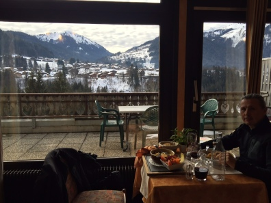 Sunday lunch in Montriond