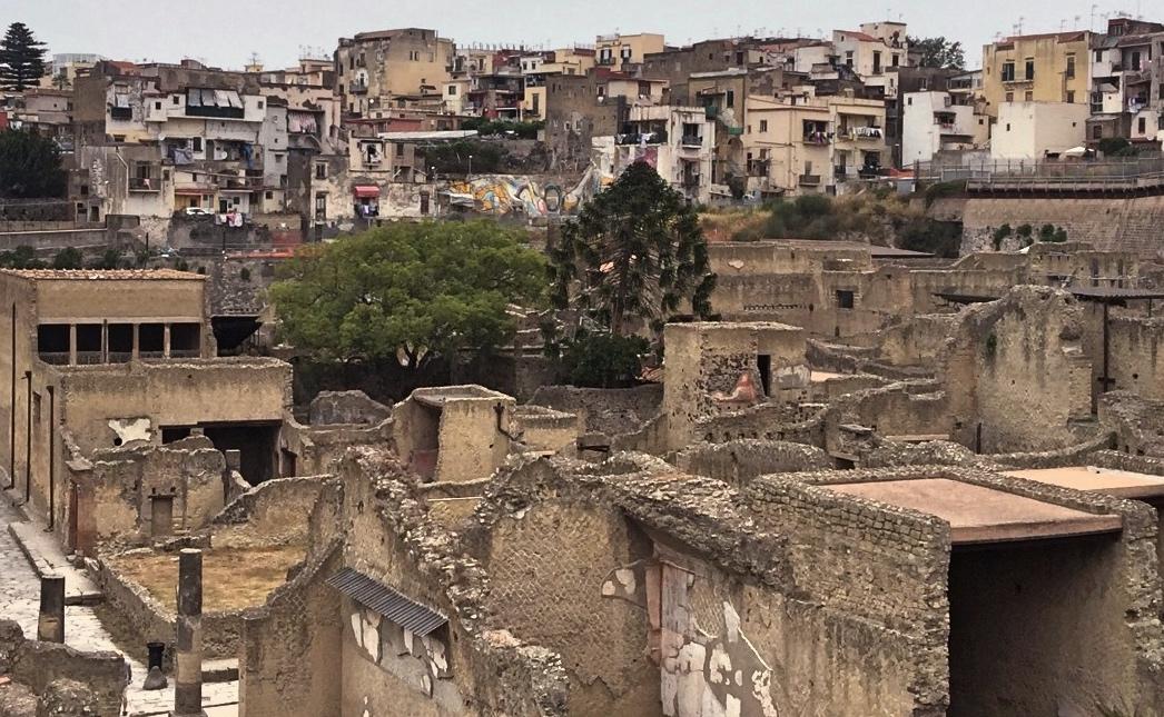 Motorhome holiday Italy Herculaneum